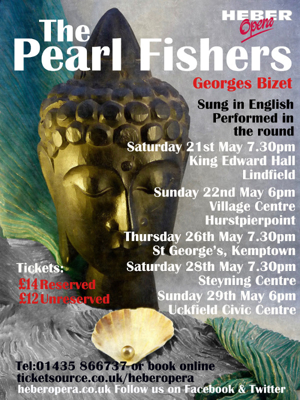 Pearl Fishers Poster